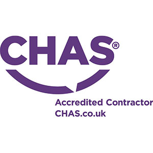 CHAS accredited security company logo