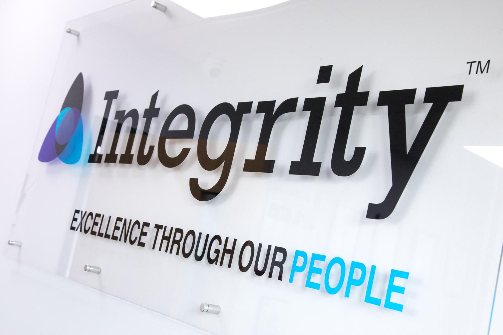 Integrity Logo at a